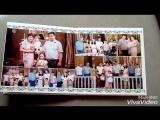 нежный дизайн для фотокниги с крещения двоих деток