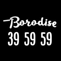 Логотип Барбершоп Borodise 39 59 59 Тольятти