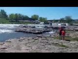 Водоспади Су-Фолса (США, штат Південна Дакота, округ Міннехаха)