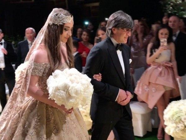 Самая дорогая свадьба детей российских олигархов