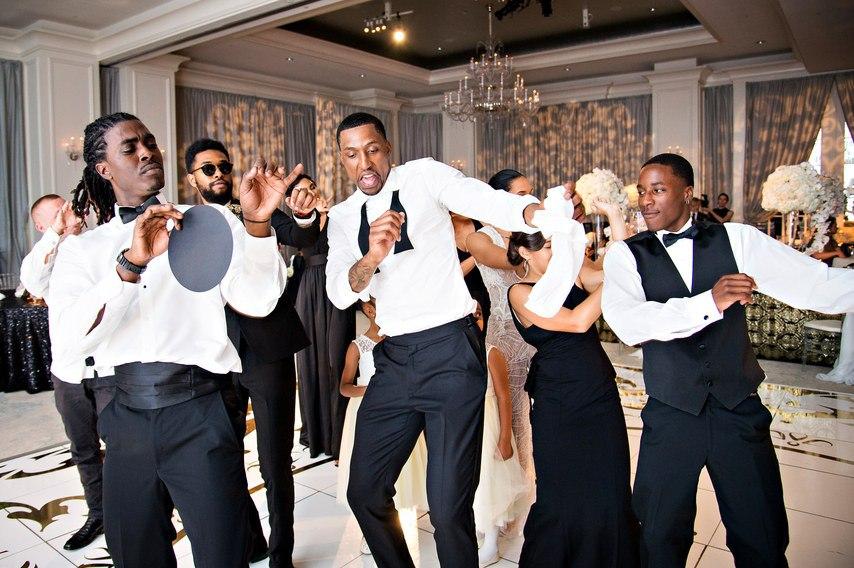 ns FhI8wweQ - Счастливые мгновения свадьбы в стиле Гэтсби