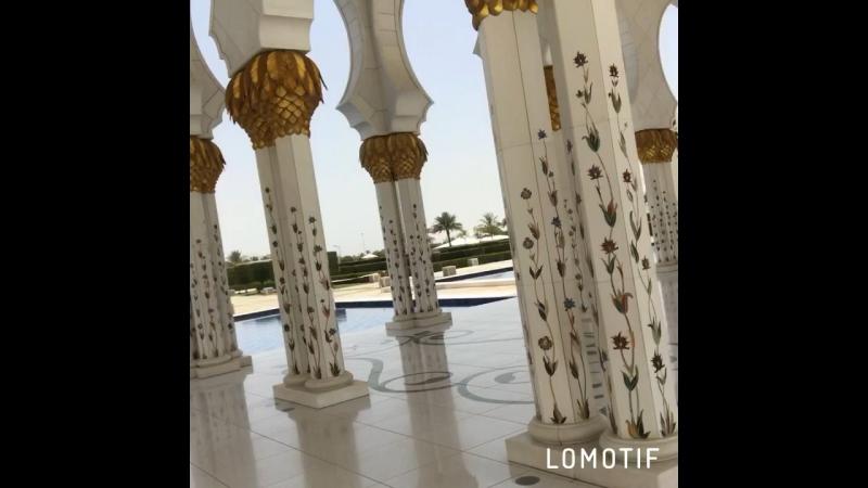 Dubai❤️самая красивая мечеть в мире🕌