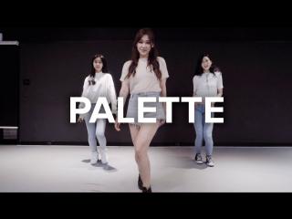 1Million dance studio Palette - IU (ft. G-Dragon) / Beginners Class
