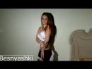 Секси девочка в костюме горничной besnyashki