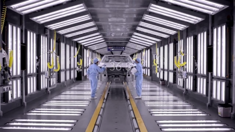 Production of the DS5 in Shenzhen plant
