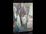 Туристки крадут одежду 07.01.2017 Краби Таиланд