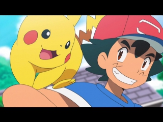 Pocket Monsters Sun & Moon 10 серия русская озвучка OVERLORDS / Покемон: Солнце и Луна 10 / Pokemon [vk] HD