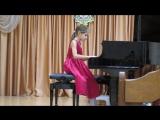 Рождественский концерт в музыкальной школе. Д.Шостакович ''Гавот'' из третьей балетной сюиты