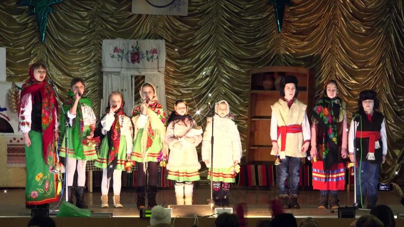 Фестиваль Овруччина колядує. Овруцька районна бібліотека для дітей