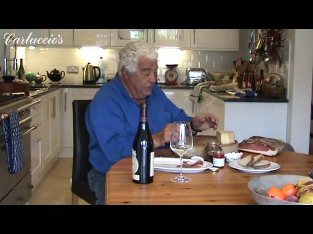 At Home with Antonio Carluccio a plate of antipasti