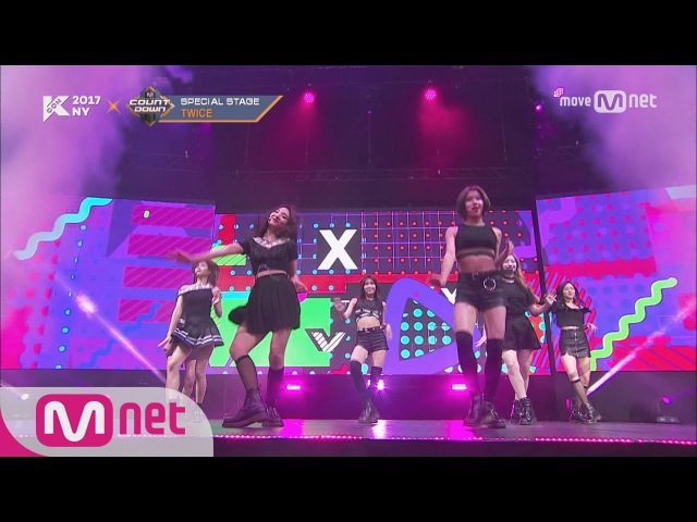 [KCON NY] TWICE - Bad Girl Good GirlNobodyHoney ㅣ KCON 2017 NY x M COUNTDOWN 170706 EP.531