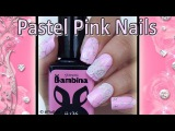 Pink nails with 3D flowers / Нежный дизайн с лепкой