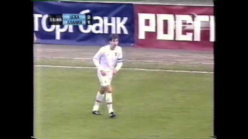 ЧР 2005. ЦСКА - Алания. 4-3 (2 тайм)