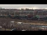 Переброс военной техники в Приморский край
