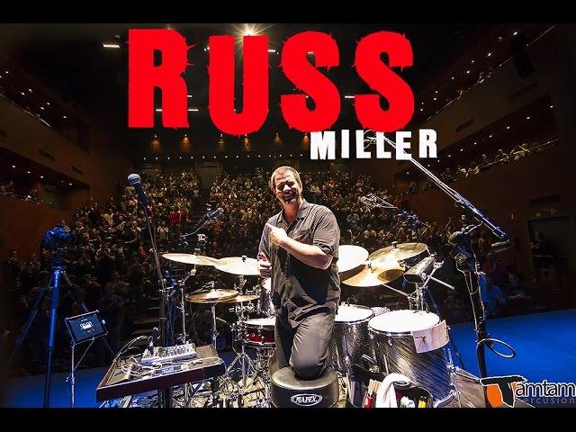 Russ Miller - TamTam DrumFest Sevilla 2015 - Mapex Drums, Zildjian Cymbals