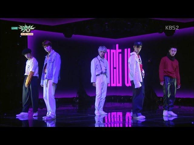 NCT U 엔시티 유 '일곱 번째 감각 (The 7th Sense)' KBS MUSIC BANK 2016.04.22