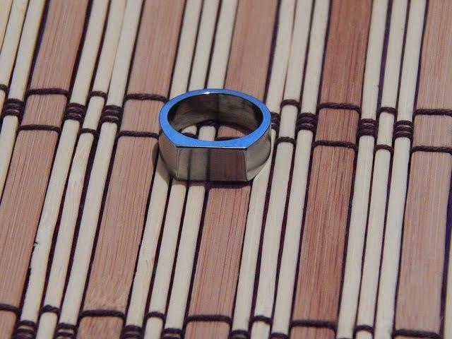 Кольцо печатка из гайки своими руками - How to Make a Ring from a Nut