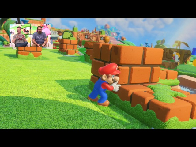 Mario Rabbids Kingdom Battle - Nintendo Treehouse: Live @ E3 2017