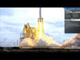 Моменты старта  и посадки Falcon 9 (CRS-11) 03062017  SpaceX