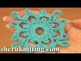 Crochet Square Motifs Tutorial 7 Part 1 of 2 Crochet carr