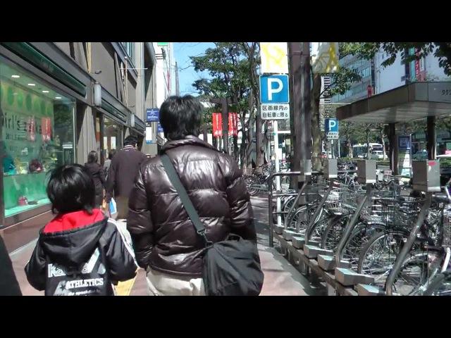Japanese Street Scene Tenjin, Fukuoka City - 福岡市天神 - Japan As It Truly Is