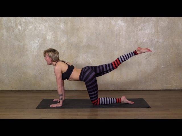3 простых упражнения для плоского живота
