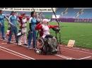 ShootLikeMe: Olympic and Paralympic archer Zahra Nemati  Archery Fan Reporter [EN SUBTITLES]