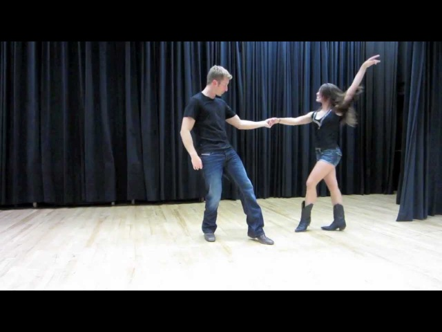 Country Swing Dancing - Tricks Flips Aerials Dips