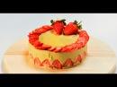 Торт Фрезье лайт Десерты лайт