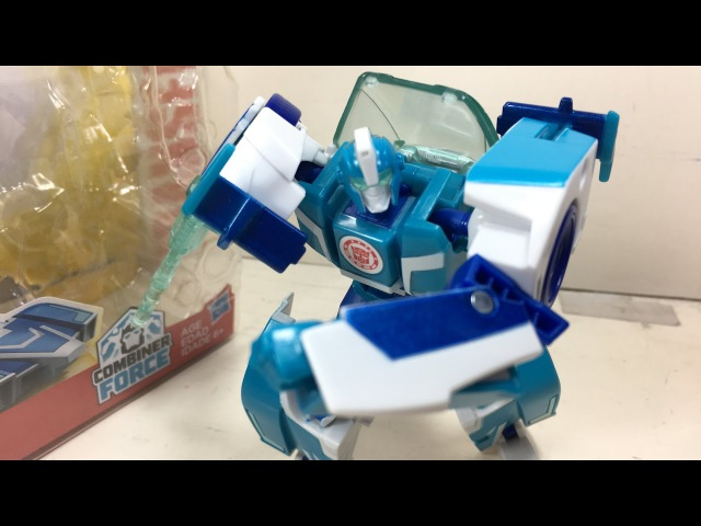 Transformers RID Warrior Deluxe Blurr Chefatron Toy Review
