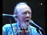 Where Have all the flowers gone - Pete Seeger - Palau Sant Jordi 1993