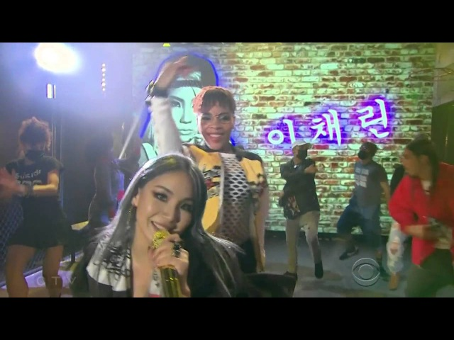 CL 'Lifted' on The Late Late Show w/ James Corden (720p HQ 60fps)