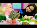 Игры для девочек на свежем воздухе куколка Барби дела