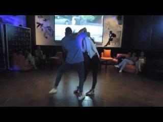 Carlos Camacho & Martina la Sucu - Bachata Sensual, Mana Cafe 2016