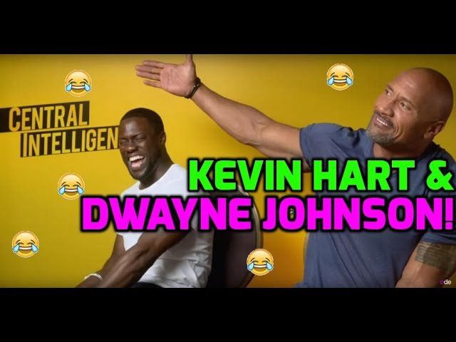 Kevin Hart The Rock do hilarious impressions of each other!
