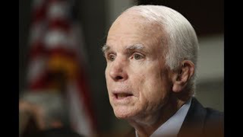 John McCain's cancer diagnosis is 'God's punishment' for Trump criticism, claim alt right members