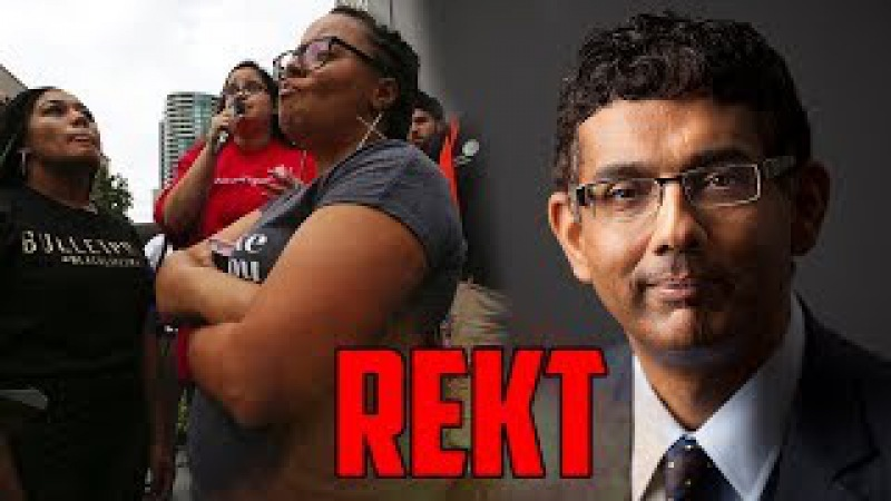 Cocky Liberal Stumped By Dinesh D'Souza Over Morality Of Climate Change