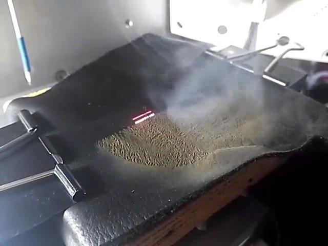 Гравировка кожи на волоконном лазере