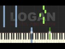 LOGAN SOUNDTRACK: Main titles Piano Tutorial Sheet Music (Synthesia)