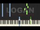 LOGAN SOUNDTRACK: Main titles Piano Tutorial Sheet Music (Synthesia)