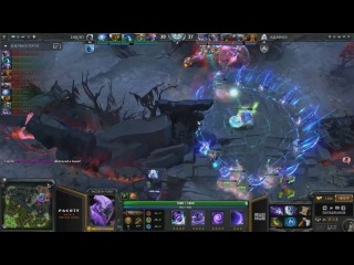 Liquid.Miracle Morphling Rampage vs Alliance