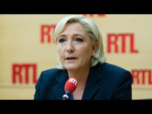 Marine Le Pen était l'invitée de RTL le 29 mai 2017