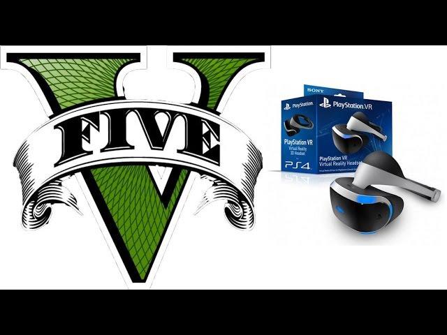 GTA 5 в шлеме виртуальной реальности Playstation VR Есть ли смысл?