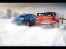 Subaru Impreza WRX STI vs Mitsubishi Lancer EVO IX / Гонка / Финальное видео