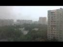 Видео дня 30 06 2017 Ливень в Москве 2 я волна Скорость видео х1000
