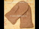 Варежки классические - 1 часть - Crochet mittens - вязание крючком