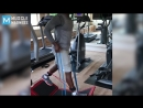 Antonio Brown Explosive Training for Steelers   Muscle Madness