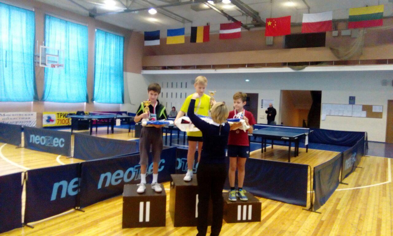 Коломенский спортсмен стал победителем XX традиционного турнира по настольному теннису в городе Подольске, фото Коломна Спорт