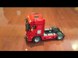 lego mercedes actros 4 x 2 semi truck. Black Bedroom Furniture Sets. Home Design Ideas