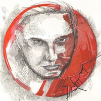 Логотип muzhevsky (ex. красота красного круга)